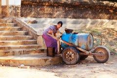 Forma de vida en Bagan, Myanmar Fotos de archivo libres de regalías