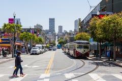 Forma de vida en San Francisco Imagen de archivo
