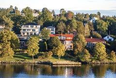 Forma de vida escandinava Imagen de archivo