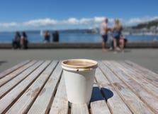 Forma de vida y café Fotografía de archivo
