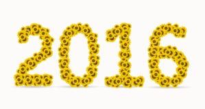 Forma del año 2016 Imagen de archivo