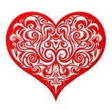 Forma del corazón Fotografía de archivo
