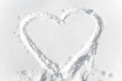 Forma del corazón Fotos de archivo libres de regalías