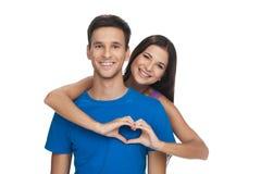 Forma del cuore. Fotografie Stock Libere da Diritti