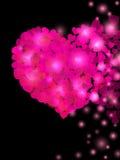 Forma del cuore Fotografia Stock