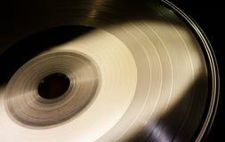 Forma del disco del vinilo Imagen de archivo libre de regalías