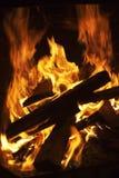 Forma del fuego Imagenes de archivo