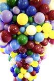 Forma del grupo del globo en colorido Imagen de archivo