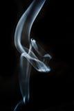 Forma del humo Fotografía de archivo libre de regalías