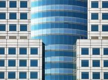 Forma del modello dei quadrati dalle finestre immagini stock libere da diritti