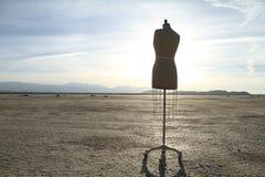 Forma del vestido Fotos de archivo libres de regalías