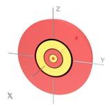 Forma dell'orbitale atomico 5s su fondo bianco Ot disponibile royalty illustrazione gratis