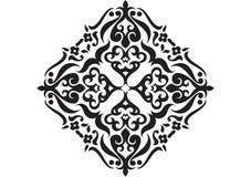 Forma desenhada mão da textura Imagem de Stock