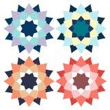 Forma di logo della stella Fotografia Stock