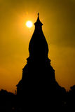 Forma di Phra Thatphanom Fotografie Stock