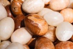 Forma di pietra dell'uovo Fotografia Stock Libera da Diritti