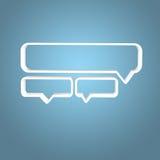 forma di progettazione degli scaffali 3D Fotografia Stock Libera da Diritti