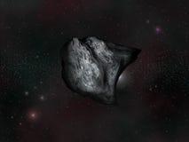 A forma di stella Immagini Stock
