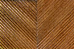 Forma di v di legno Immagini Stock Libere da Diritti