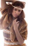 Forma do africano de Brown Fotos de Stock