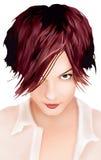 Forma do cabelo Fotografia de Stock Royalty Free