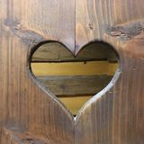 Forma do coração Fotografia de Stock Royalty Free