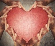 Forma 2 do coração Imagem de Stock Royalty Free