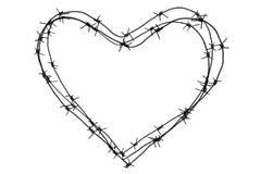 Forma do coração Imagem de Stock
