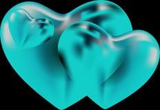 Forma do cora??o para s?mbolos do amor ilustração royalty free