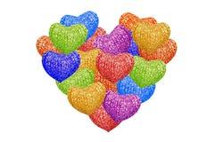 Forma do coração Fotos de Stock Royalty Free