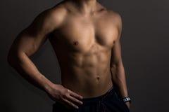 Forma e masculino Imagem de Stock Royalty Free