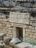 Forma Efes de Foto Imagenes de archivo