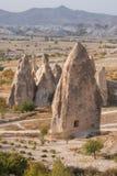Forma??es de rocha em Capapdocia, Turquia imagem de stock
