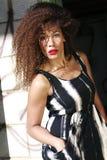 Forma fêmea do estilo de vida do African-American Fotos de Stock Royalty Free