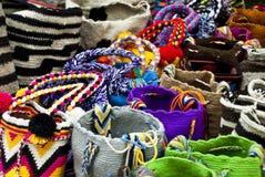 Forma - fazer crochê bolsas Fotografia de Stock