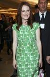 Forma Fest de Julianne Moore da actriz de CIDADE DO MÉXICO fotografia de stock royalty free