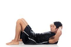 Forma fisica asiatica dell'atleta Immagini Stock