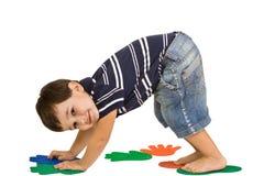 Forma fisica dei bambini fotografie stock libere da diritti