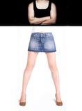 Forma fisica del corpo Fotografia Stock Libera da Diritti