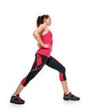 Forma fisica della donna relativa alla ginnastica Immagine Stock Libera da Diritti