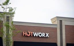 Forma fisica di Hotworx, Murfreesboro, TN Fotografia Stock Libera da Diritti