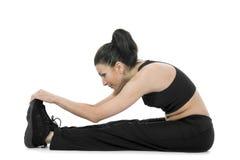 Forma fisica di pratica della donna Immagine Stock