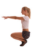 Forma fisica femminile immagini stock libere da diritti