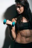 Forma fisica femminile Immagine Stock