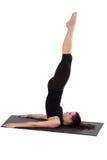 Forma fisica - Pilates Fotografia Stock