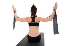 Forma fisica - Pilates Fotografia Stock Libera da Diritti