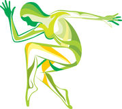 Forma fisica, yoga, sport immagine stock