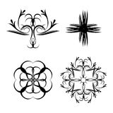 Forma floral oriental illustartion Libre Illustration