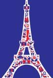 Forma francesa Imagens de Stock Royalty Free