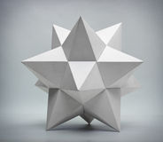 Forma geométrica abstrata Fotografia de Stock